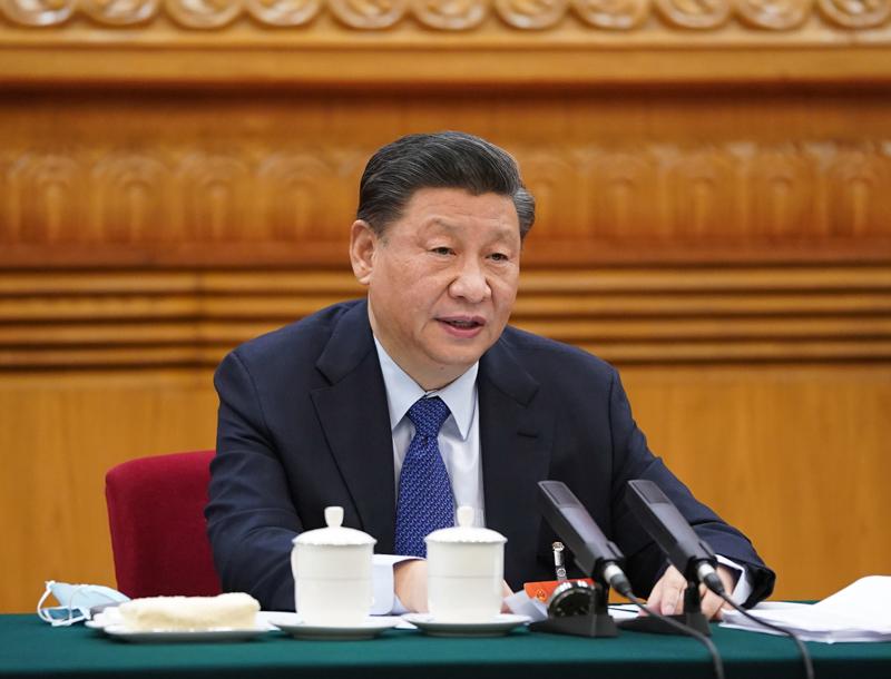 习近平在参加青海代表团审议